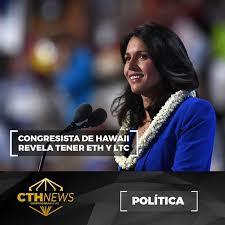Congresista inversora en Crypto se postula como presidenta de EE.UU.