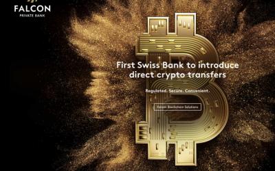 El Banco Suizo Falcon introduce transferencias de criptomoneda