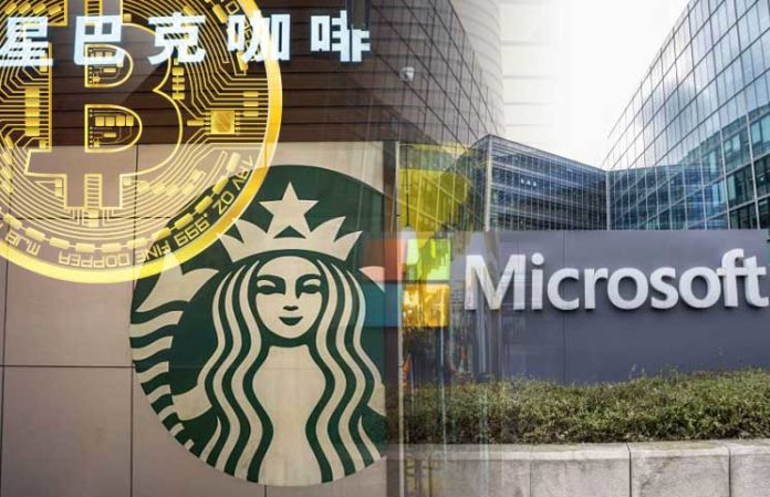 Starbucks aceptará pagos en Bitcoin